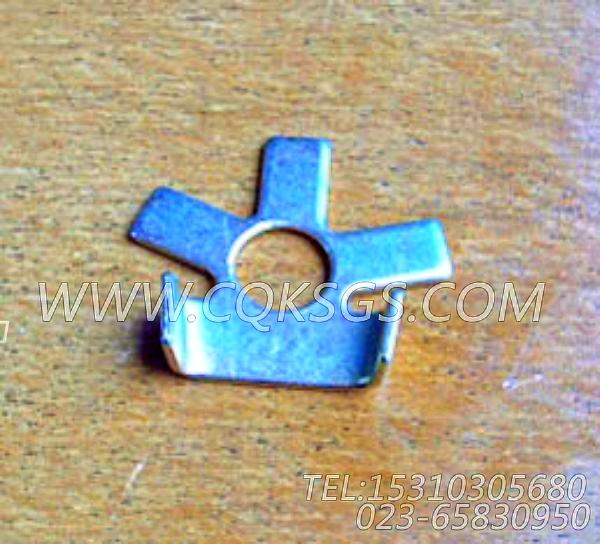 114638锁紧片,用于康明斯NT855-P300主机排气管及安装组,【应急水泵机组】配件-2