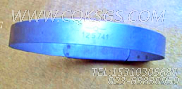 125741抱箍,用于康明斯KT19-C450主机凸缘软管组,【混应土拖泵】配件-0