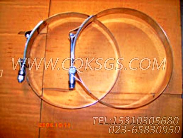 140313抱箍,用于康明斯NTA855-C360主机空滤器弯管组,【内燃机车】配件-1