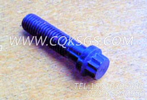 205393十二角螺栓,用于康明斯KTA38-G2-600KW动力基础件组,【电力】配件-1