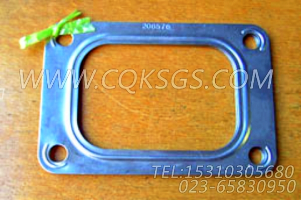 206576增压器衬垫,用于康明斯KTA19-G2主机排气歧管和增压器安装组,【发电用】配件-0