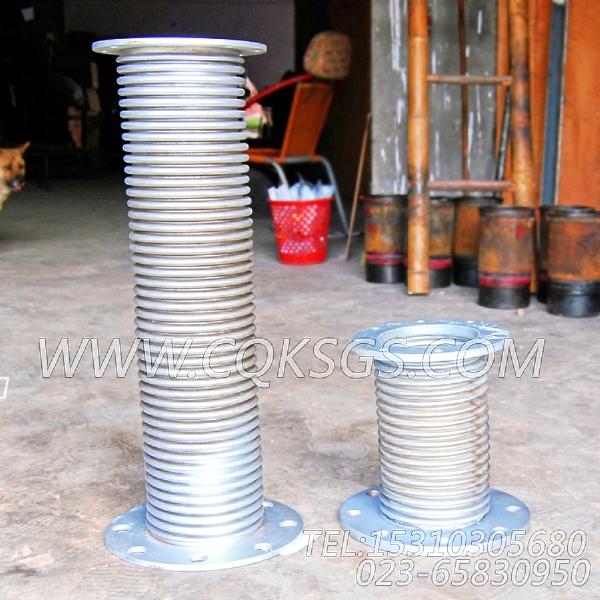 203555排气波纹管,用于康明斯NTA855-G2-CE170动力排气波纹管组,【挖掘机】配件-1