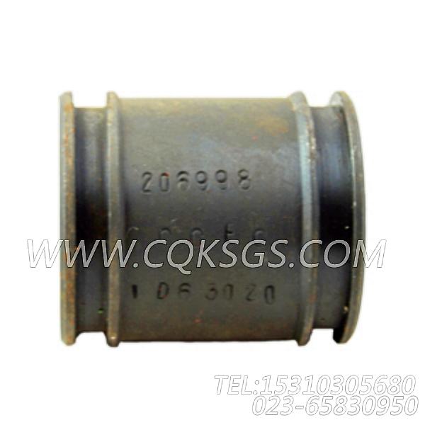 206998输水管,用于康明斯KTA19-P430发动机机油冷却器接头组,【水泵机组】配件-0