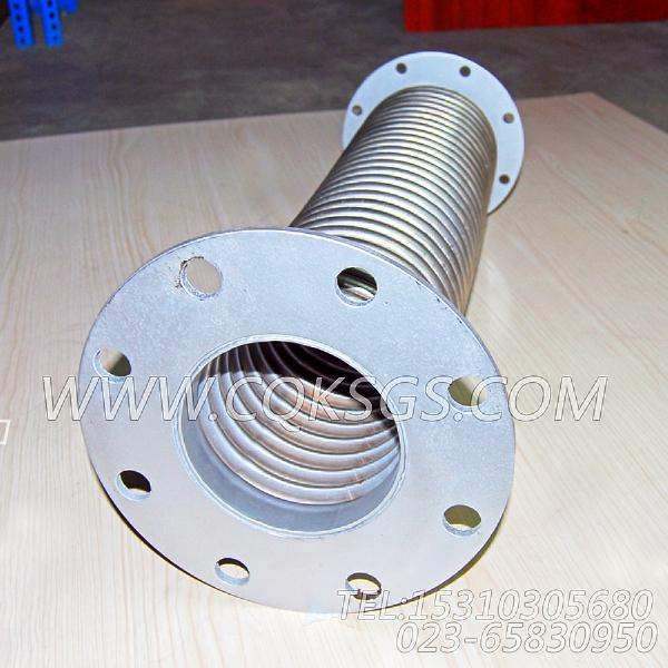 203555排气波纹管,用于康明斯NTA855-G2-CE170动力排气波纹管组,【挖掘机】配件-2