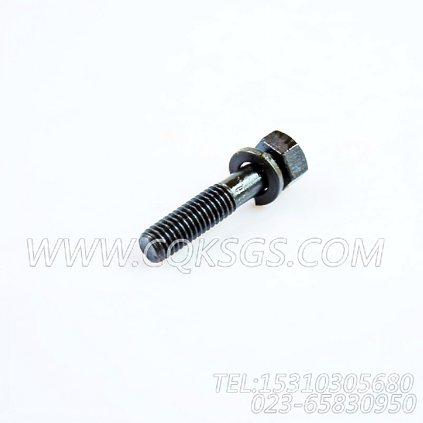 3012473带垫螺栓,用于康明斯NTA855-P360柴油发动机发动机出水管组,【泥浆泵】配件-1