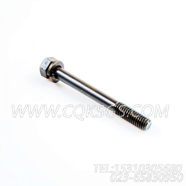 3012478带垫螺栓,用于康明斯KTA19-P540动力燃油管路组,【泥浆泵】配件-2