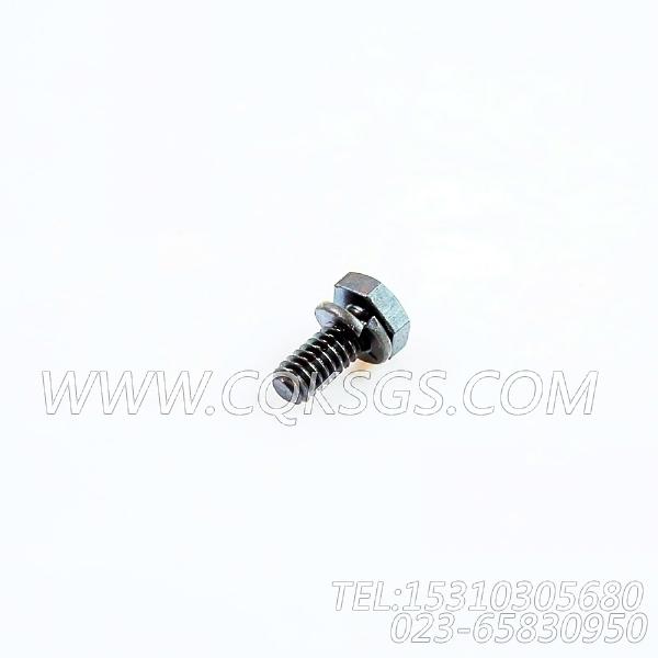 3013904带垫螺拴,用于康明斯NTA855-G1(M)-60HZ柴油发动机飞轮壳组,【船机】配件-2
