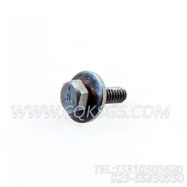 3014766带垫螺栓,用于康明斯KTA19-M500主机燃油管路组,【抽沙船用】配件-2