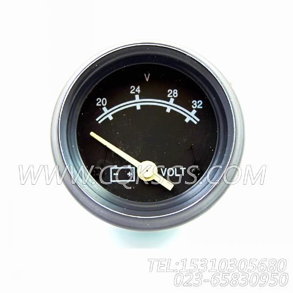 3015235电压表,用于康明斯NTA855-C400柴油机发动机散件组,【哈尔滨博威矿用自卸车】配件-1