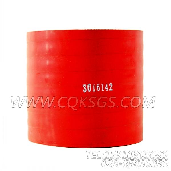 3016142普通软管,用于康明斯KTA19-G3发动机排气歧管和增压器安装组,【发电用】配件-0