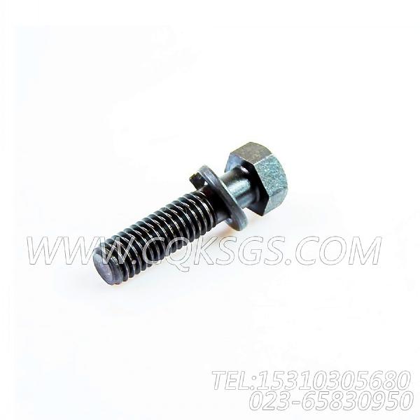 3019574带垫螺栓,用于康明斯NTA855-P400动力风扇布置组,【水泵机组】配件-0