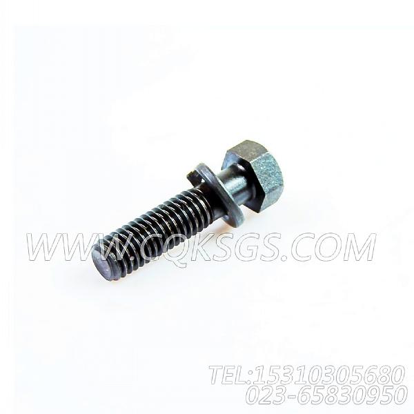 3019574带垫螺栓,用于康明斯NTA855-P400动力风扇布置组,【水泵机组】配件-1