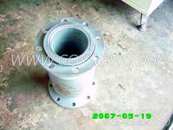 3020988排气管柔性管,用于康明斯KT19-C450发动机排气波纹管组,【洛阳一拖矿车】配件-2