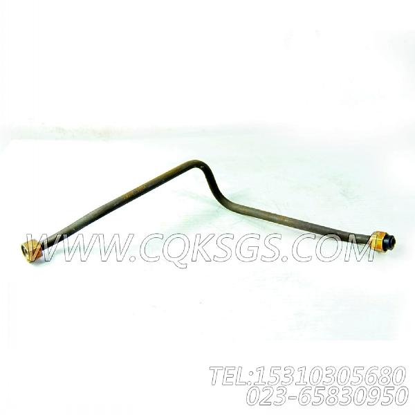 3022867回油管,用于康明斯NTA855-P220主机增压器安装组,【水泵机组】配件-2