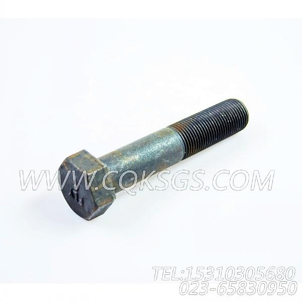 3023536六角螺栓,用于康明斯KTA38-C1050主机飞轮组,【德工冷再生机】配件-2