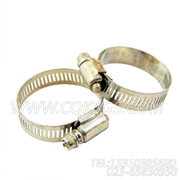 3026806抱箍,用于康明斯KTA19-C450动力手孔盖组,【摊铺机】配件-2