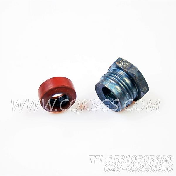 3031404油管接头,用于康明斯KTA38-C1050动力燃油歧管组,【挖掘机】配件-0
