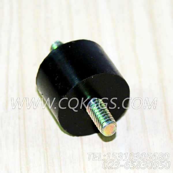 204493减振垫,用于康明斯M11-C350柴油机启动继电器及安装组,【垃圾压实车】配件