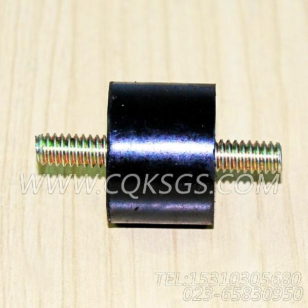 204493减振垫,用于康明斯M11-C350柴油机启动继电器及安装组,【垃圾压实车】配件-1