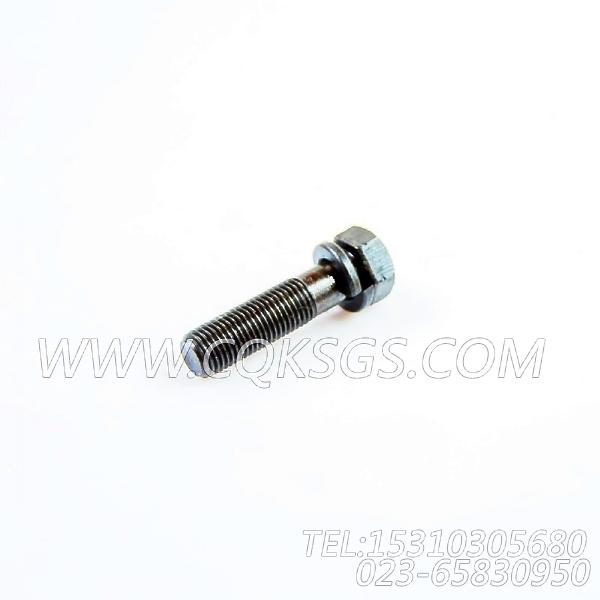 3034526带垫螺栓,用于康明斯NTA855-P425发动机燃油滤清器组,【应急水泵机组】配件-0