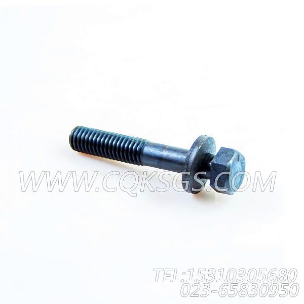 3040837带垫螺栓,用于康明斯KTA19-P430动力机油盘组,【泥浆泵】配件-0