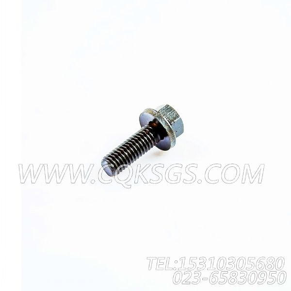 3040838带垫螺栓,用于康明斯KTA19-G4动力机油滤清器组,【动力电】配件-1