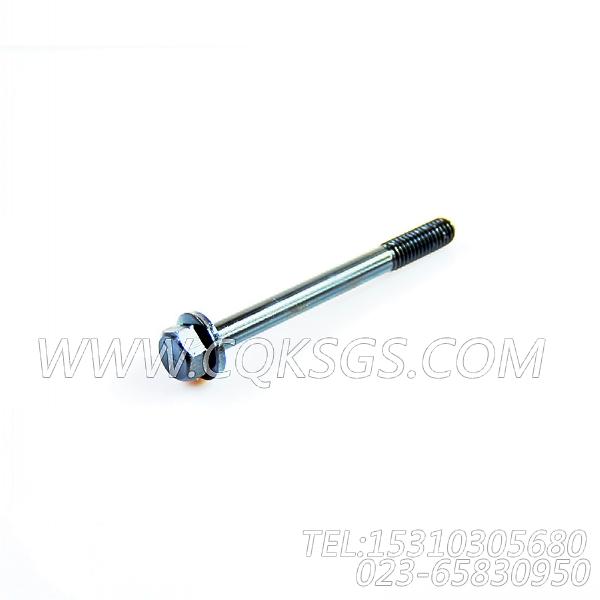 3042890螺栓,用于康明斯KTA19-G4(M)动力进气管安装组,【船舶机械】配件-0
