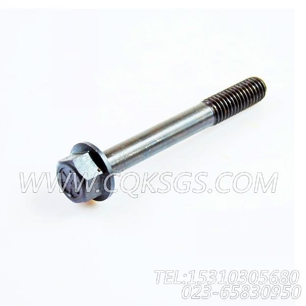 3043647六角螺栓,用于康明斯NTA855-C310发动机排气管及安装组,【江汉四机压裂车】配件-1