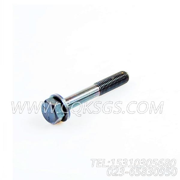3044901带垫螺栓,用于康明斯NTA855-G4发动机机油滤清器组,【动力电】配件-2
