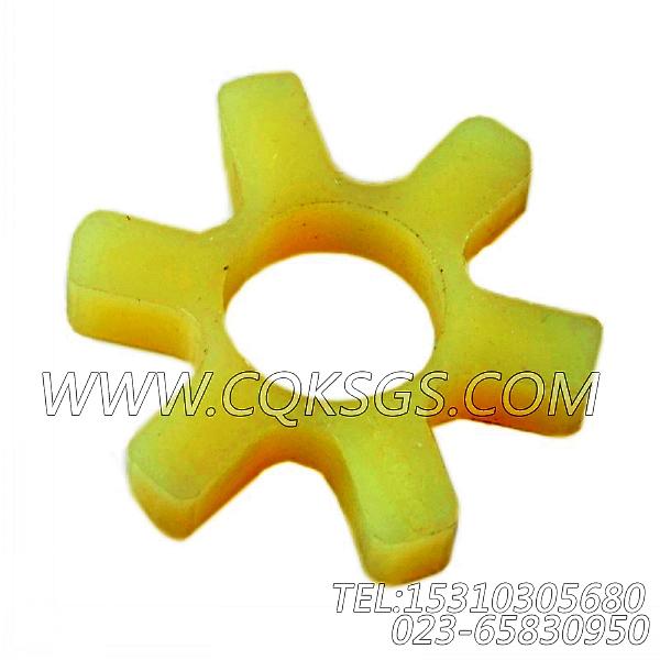 3046200爪式联轴节缓冲片,用于康明斯M11-C300主机燃油泵组,【挖掘机】配件-1