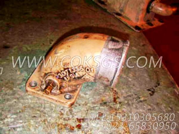 3071336进气接头,用于康明斯M11-C330柴油机排气管组,【柱塞泵】配件-1