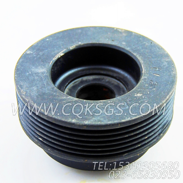 3251035发电机皮带轮,用于康明斯NTA855-G2(M)60Hz柴油机发电机安装组,【轮船用】配件-1