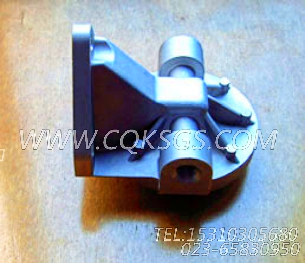 3304173旁滤器座,用于康明斯NG4柴油机旁通机油滤清器组,【柴油发电】配件-1