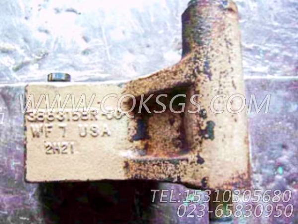 3883158发电机支架,用于康明斯M11-C330柴油机发电机安装组,【徐工拌合机】配件-0