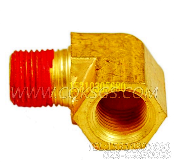 69318弯接头,用于康明斯NTA855-G2(M)柴油发动机热交换器组,【抽沙船用】配件-0