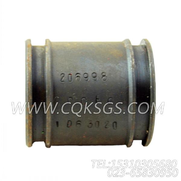 206998输水管,用于康明斯KTA19-P430发动机机油冷却器接头组,【水泵机组】配件-2