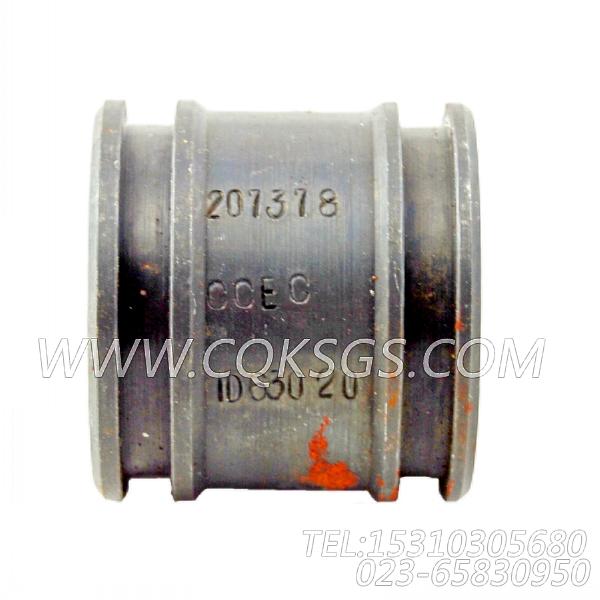 207378输水管,用于康明斯KTA19-G3(M)柴油机进气管组,【船用主机】配件-0