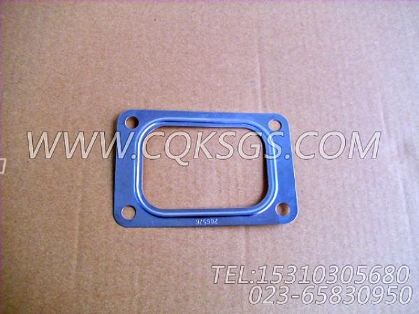 206576增压器衬垫,用于康明斯KTA19-G2主机排气歧管和增压器安装组,【发电用】配件