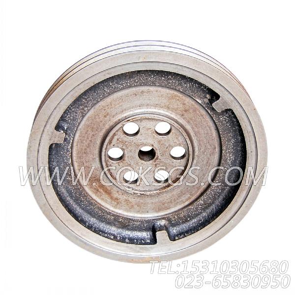 211918曲轴皮带轮,用于康明斯NYA855-G4柴油机硅油减振器组,【发电用】配件-1