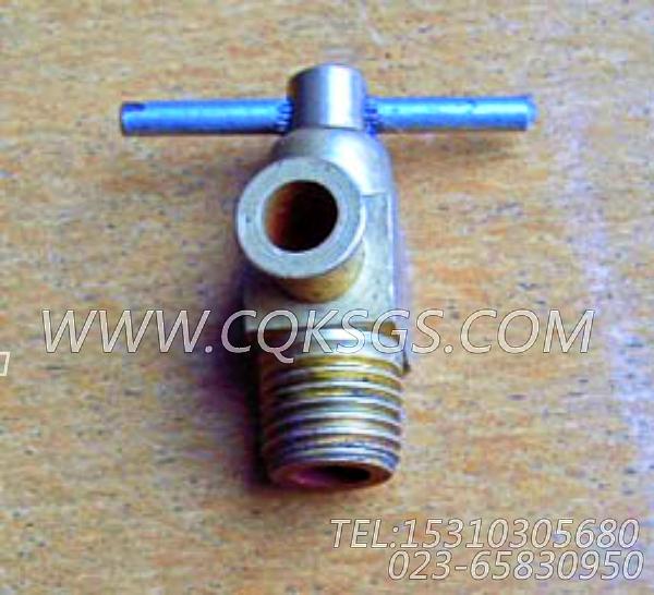 214327放水开关,用于康明斯NTA855-P360主机基础件(船检)组,【应急水泵机组】配件-1