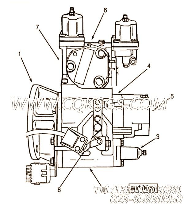 【步伐模块】康明斯CUMMINS柴油机的3056630 步伐模块