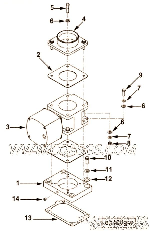 【调速器控制】康明斯CUMMINS柴油机的4100400 调速器控制