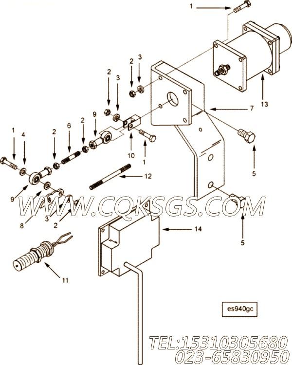 【调速器控制】康明斯CUMMINS柴油机的3283463 调速器控制