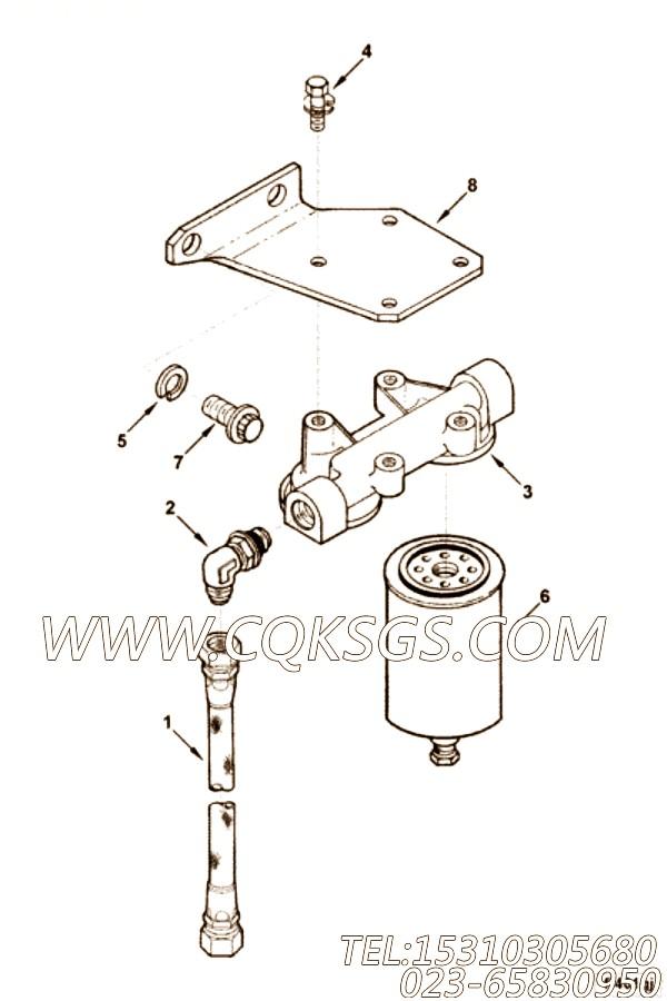 【柔性软管】康明斯CUMMINS柴油机的AM10036 SS 柔性软管