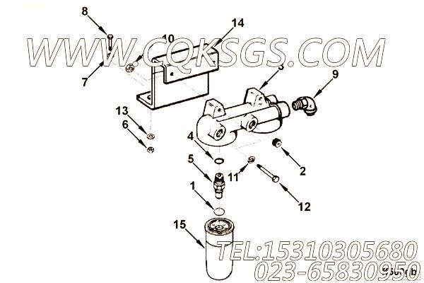 滤清器座连接件