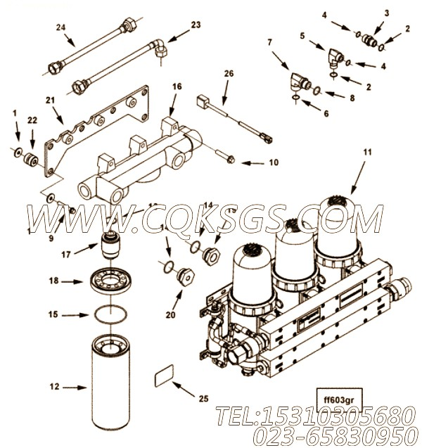 【外螺纹接头】康明斯CUMMINS柴油机的3171818 外螺纹接头