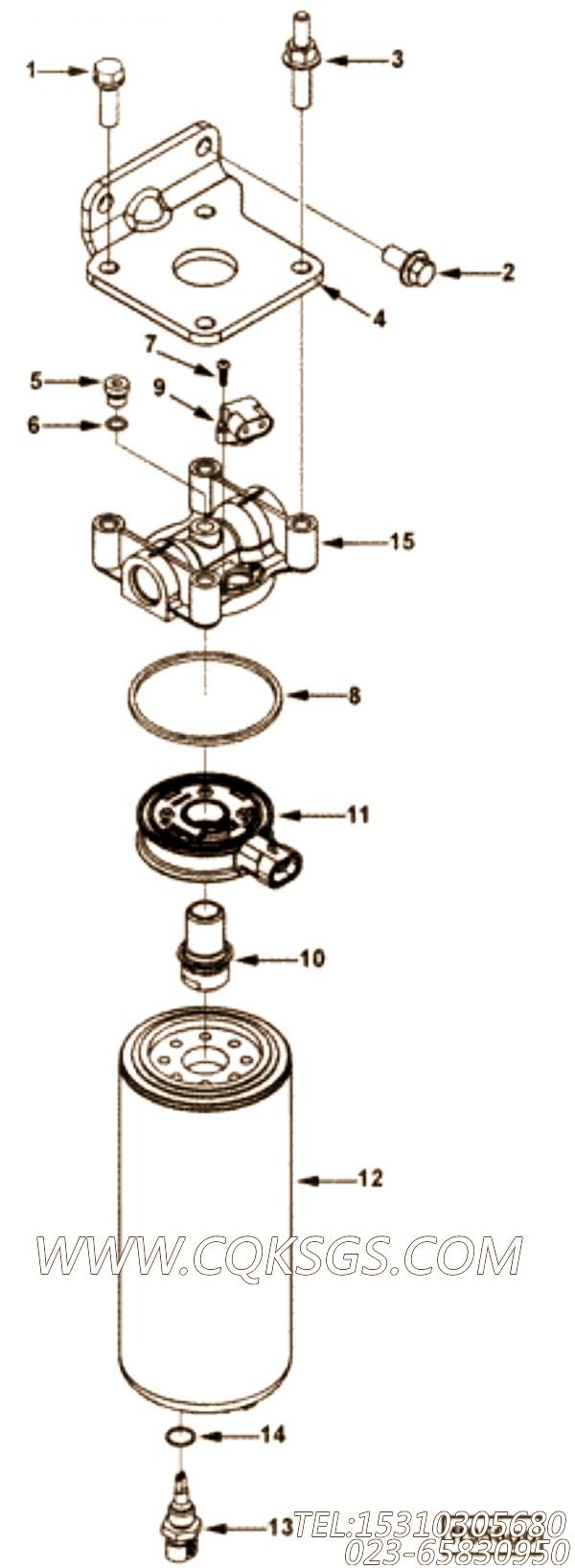 【矩形密封圈】康明斯CUMMINS柴油机的3834185 矩形密封圈