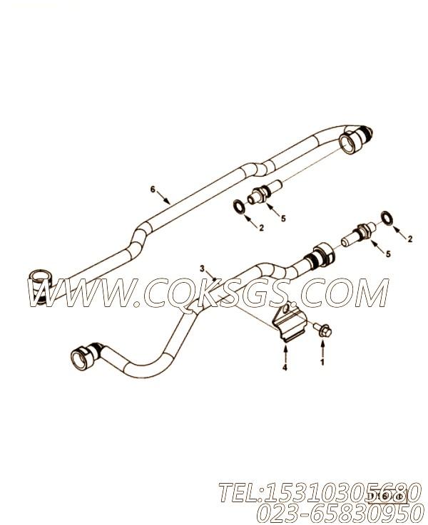 【C4946582】管路支架 用在康明斯引擎