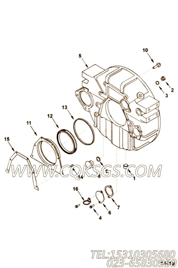【引擎4BTA3.9-C110的夹子】 康明斯夹子,参数及图片