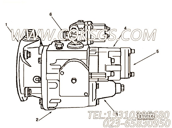 Assembly, Fuel Pump